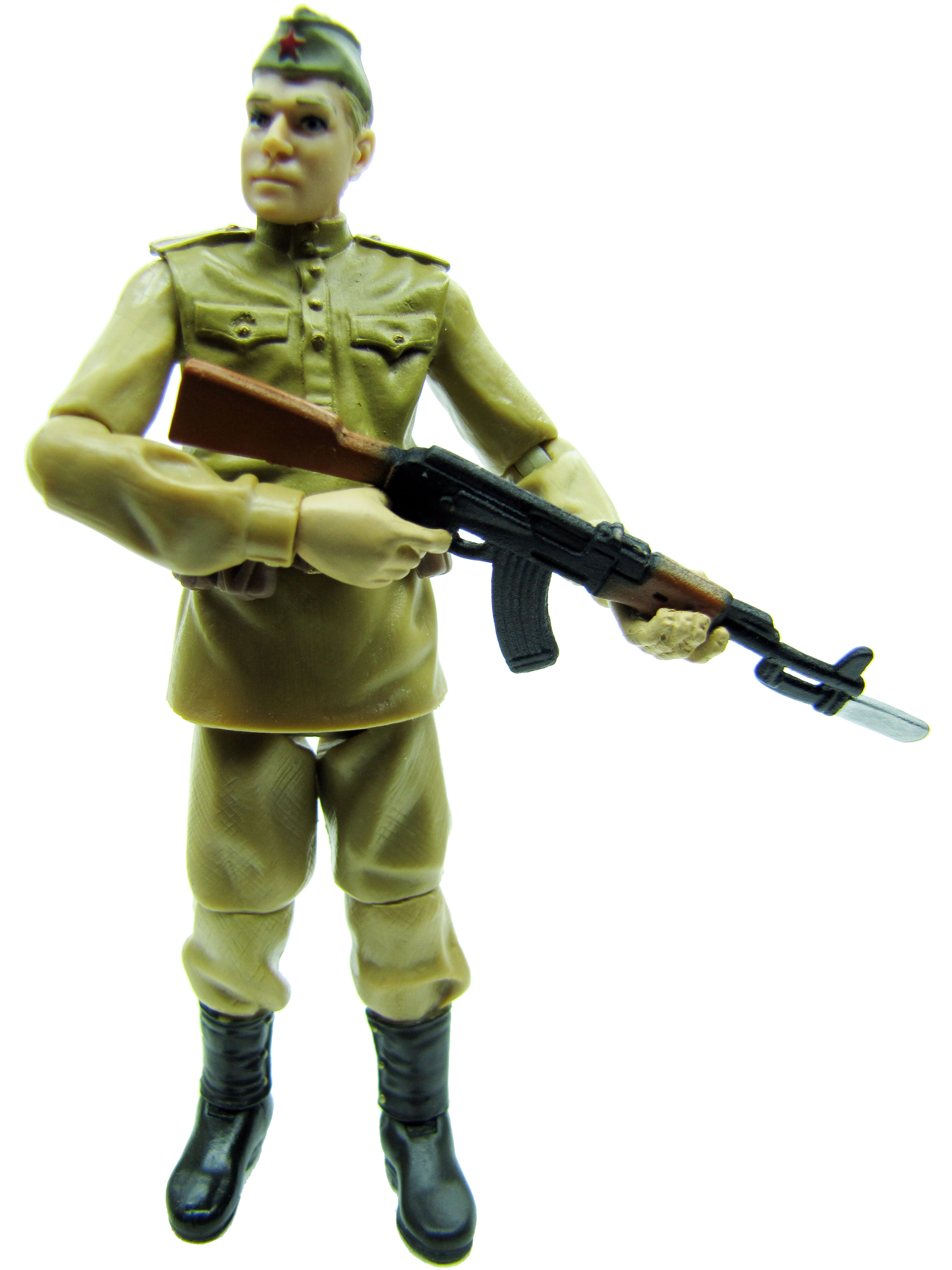2008 Indiana Jones Kingdom of the Crystal Skull Russian Soldier